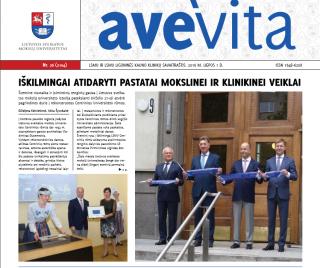 "Savaitraštis ""Ave vita"" 2016.07.01"