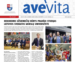 "Savaitraštis ""Ave vita"" 2016.09.09"