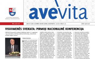 "Savaitraštis ""Ave vita"" 2016.10.07"