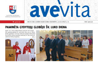 "Savaitraštis ""Ave vita"" 2016.10.21"