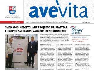 "Savaitraštis ""Ave vita"" 2016.11.08"