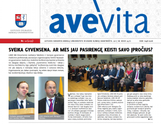 "Savaitraštis ""Ave vita"" 2017.03.24"