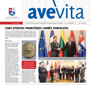 """Savaitraštis """"Ave vita"""" 2017.04.07v"""