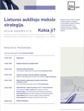 Lietuvos aukštojo mokslo strategija