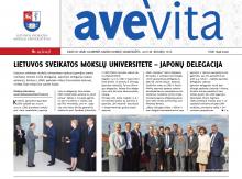 "Savaitraštis ""Ave vita"" 2016.09.16"