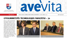 "Savaitraštis ""Ave vita"" 2016.10.14"