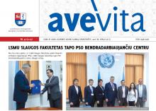 "Savaitraštis ""Ave vita"" 2016.10.28"